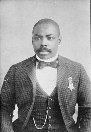 Wham Paymaster robbery - Isaiah Mays with the Medal of Honor