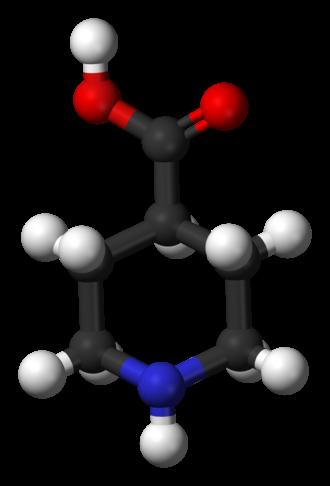 Isonipecotic acid - Image: Isonipecotic acid 3D balls