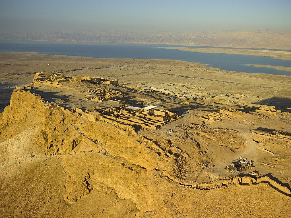Masada - Der Westpalast des Herodes - vergrößerbar