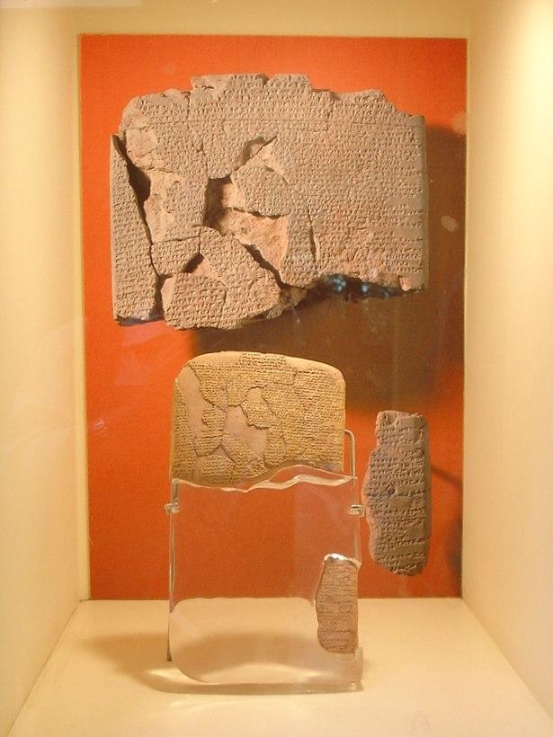 Istanbul - Museo archeol. - Trattato di Qadesh fra ittiti ed egizi (1269 a.C.) - Foto G. Dall'Orto 28-5-2006