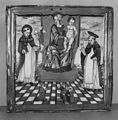 Italian - Votive Plaque with the Virgin and Child and Saints Dominic and Thomas Aquinas - Walters 481377.jpg