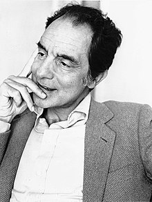 Photograph of author Italo Calvino