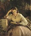 Ivan Kramskoy - Reading woman (portrait of artist's wife).jpg
