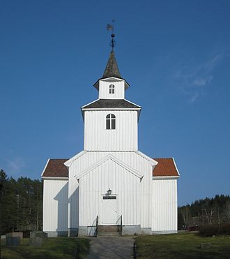 Iveland Church - View of the church