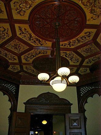 Kyu-Iwasaki-tei Garden - Interior of Western-style residence