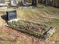 Jüdischer Friedhof Schwelm - Grabstein Artur Cohn.jpg