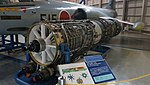 J79-IHI-11A turbojet engine left front view at Kakamigahara Aerospace Science Museum November 2, 2014 02.jpg