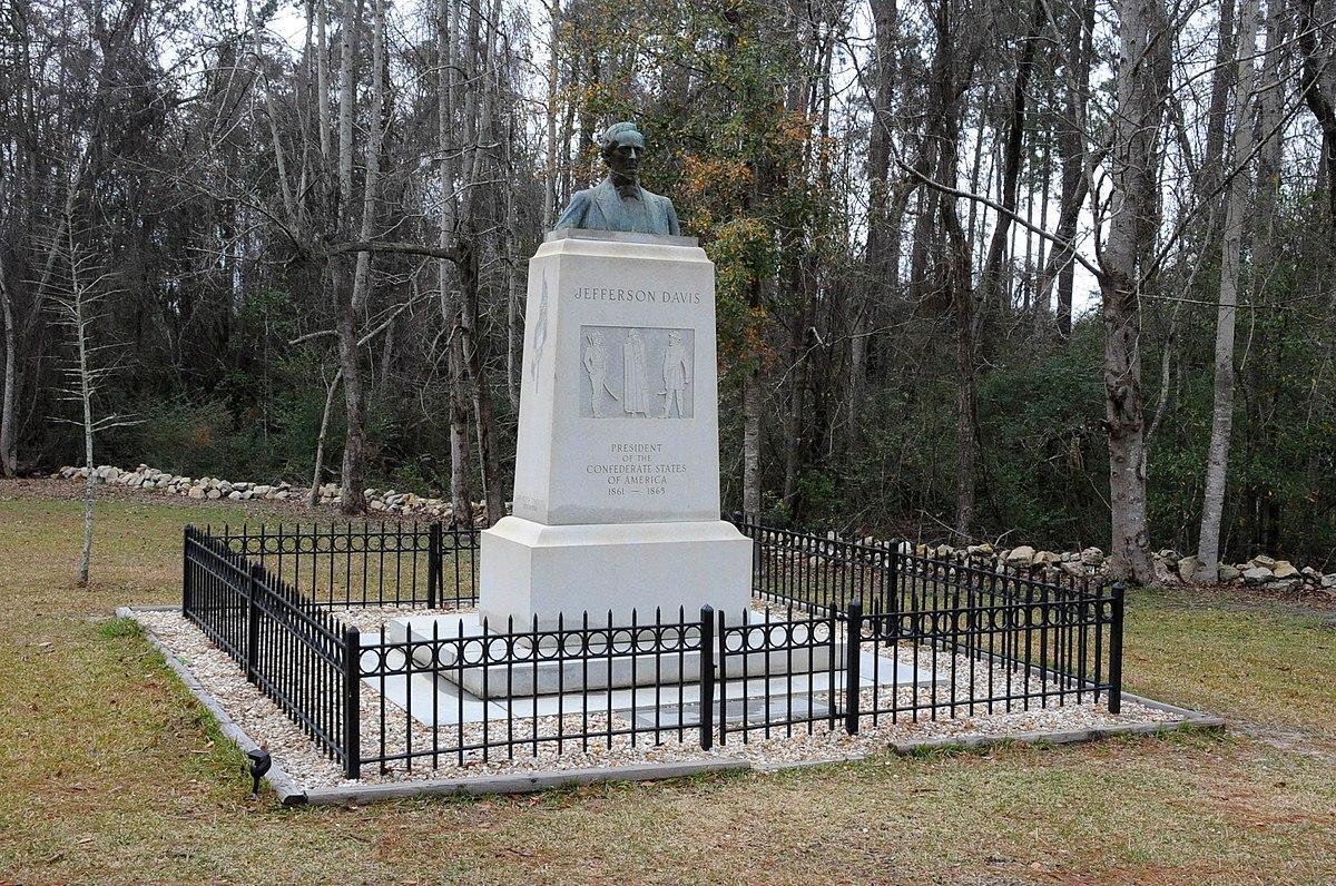 Jefferson Davis Memorial Historic Site - Wikipedia