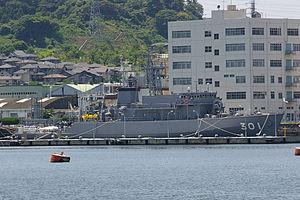 Yaeyama-class minesweeper - Image: JMSDF MSO 301 Yaeyama