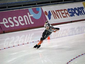 Jeremy Wotherspoon - Jeremy Wotherspoon at the Essent ISU World Cup at the Olympic Oval in Calgary.