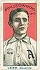 Jack Lapp, Philadelphia Athletics, baseball card portrait LCCN2007683821.jpg