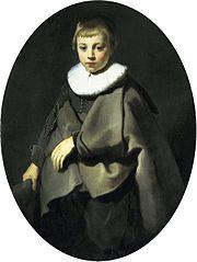 Portrait of a Boy in Gray