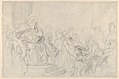 """Jacopo Brought before His Father, the Doge- Study for """"The Two Foscari"""" MET DP836113.jpg"""