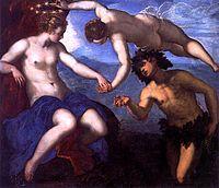 Baco y Ariadna, 1578, óleo sobre lienzo, Palacio Ducal, Venecia