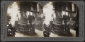 Jacquard loom at work weaving brocade. Silk industry, South Manchester, Conn., U.S.A, by Keystone View Company.png