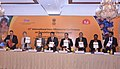 """Jagat Prakash Nadda launching the UNFPA's """"State of the World's Population Report 2014"""", at the inauguration of the 11th International Inter-Ministerial Conference on """"Investing in Demographic Dividend"""".jpg"""