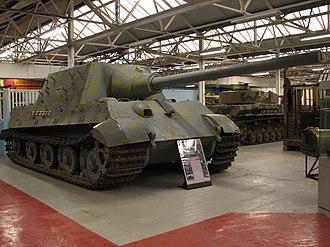 The Tank Museum - Jagdtiger.