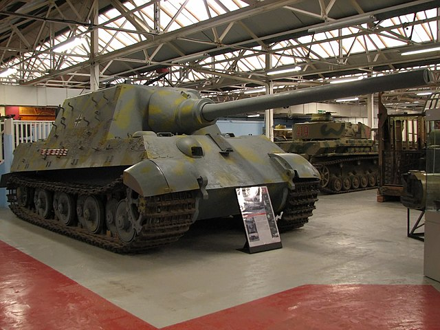 Jagdtiger at Bovington