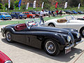 Jaguar XK 120 Roadster 1954 (15924224810).jpg