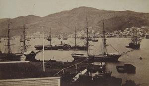 Kingston Harbour - Kingston Harbour c. 1870