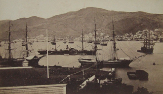 Kingston Harbour - Kingston Harbour c. 1870
