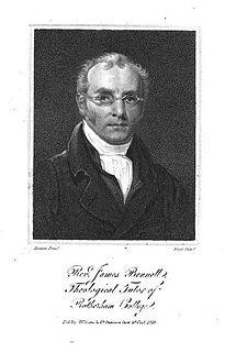 James Bennett (minister) British minister