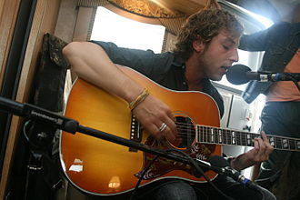 James Morrison (singer) - Morrison on 24 June 2007 at the Glastonbury Festival