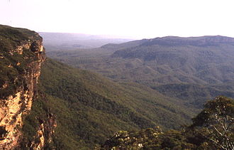 Jamison Valley - View of the Jamison Valley from near Wentworth Falls