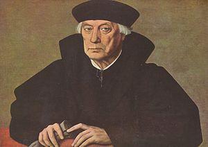 Mercurino Gattinara - Portrait of Mercurino Gattinara, by  Jan Cornelisz Vermeyen (c. 1530)