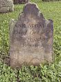 Jane McCall Tombstone, Oak Spring Cemetery, 2015-06-27, 01.jpg