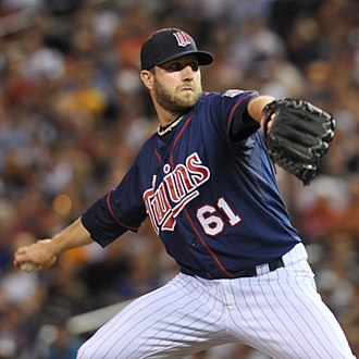 Jared Burton - Burton with the Minnesota Twins