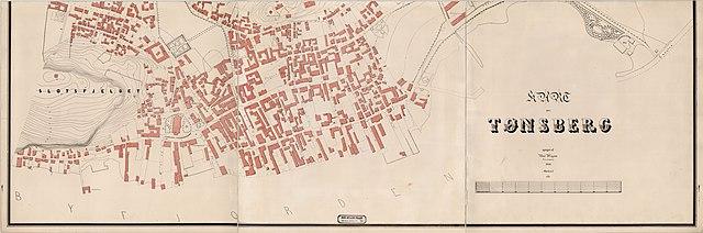 File Jarlsberg Og Larviks Amt Nr 28 Sor Kart Over Tonsberg 1868