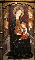 Mare de Déu amb Nen i àngels