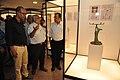 Jayanta Sengupta Visits With Shrikant Pathak And Nataraj Dasgupta - Objects In CRTL Archive Exhibition - NCSM - Kolkata 2018-05-18 0650.JPG