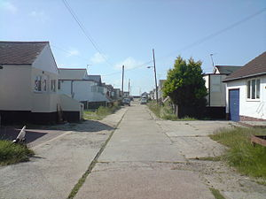 Jaywick - A typical street in Jaywick