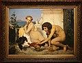 Jean-léon gérome, giovani che fanno lottare i galli (un combattimento di galli), 1846, 01.JPG