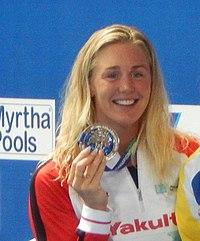 Jeanette Ottesen - Kazan 2015 - Victory Ceremony 100m butterfly W.JPG