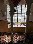 Jelky András School. Indoor stairs. - Rákóczi Square, Budapest.JPG