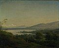 Jens Juel - A View Across Lake Leman Towards Mont Blanc and Geneva - KMS6220 - Statens Museum for Kunst.jpg