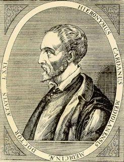 Gerolamo Cardano Italian Renaissance mathematician, physician, astrologer