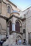 Jerusalem Holy Sepulchre BW 2.JPG