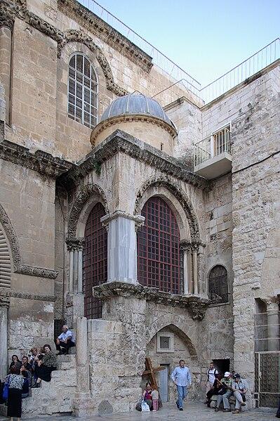 Archivo:Jerusalem Holy Sepulchre BW 2.JPG