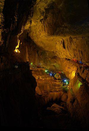 Jiuxiang Scenic Region - Image: Jiuxiang Fairy Falls