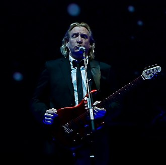 Joe Walsh - Walsh performing with the Eagles in 2009