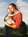 Johann Evangelist Scheffer von Leonhardshoff - Madonna mit Kind - 8396 - Österreichische Galerie Belvedere.jpg