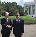 John Bolton and Serbian FM Dacic at White House.jpg