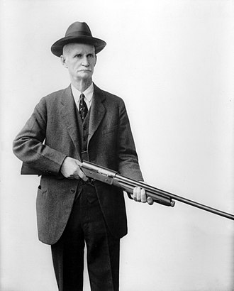 Browning Auto-5 - John M. Browning with his Auto-5