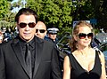 John Travolta Kelly Preston Cannes 2014.jpg