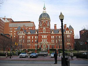 Medical centers in the United States - Billings Building, The Johns Hopkins Hospital