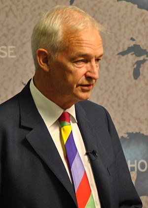 Jon Snow (journalist) - Snow speaking at Chatham House in 2011